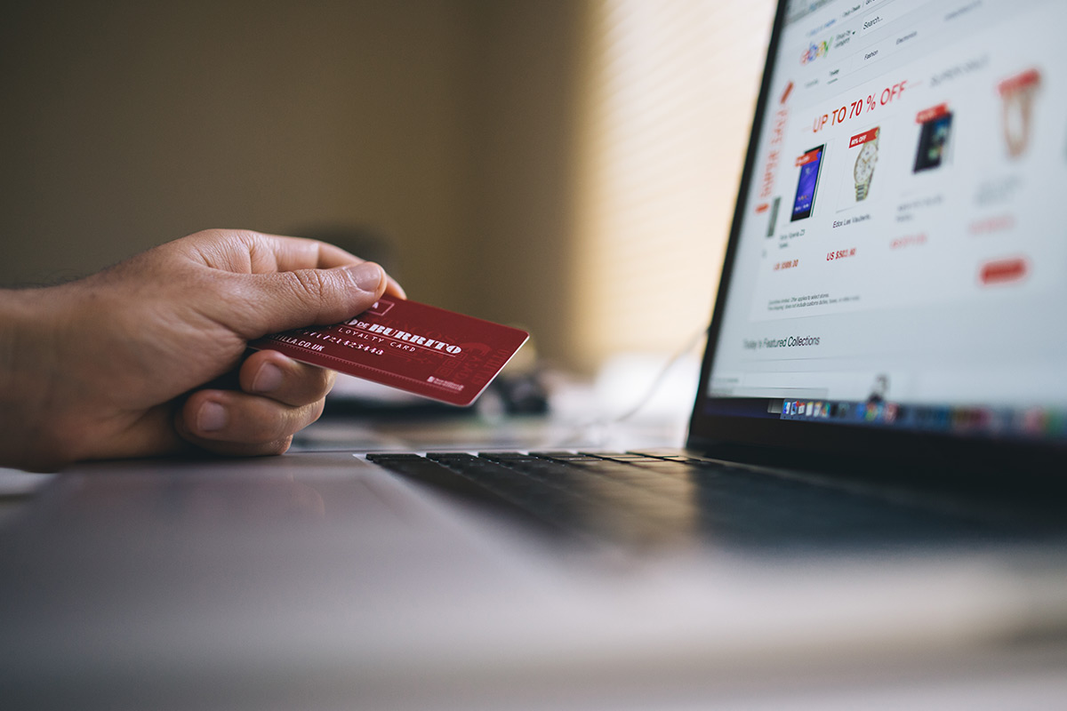 Paying using a card on an online ecommerce website,
