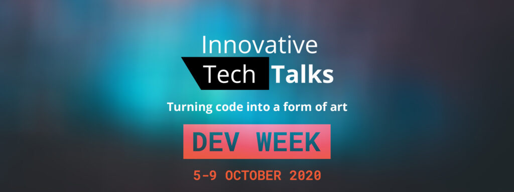 Innovative TechTalks - Turning Code Into a Form of Art